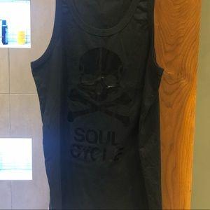 Soul Cycle Men's Black Tank